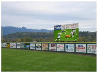 Live Sport Events Outdoor Advertising Led Display Screen Excellent Consistency