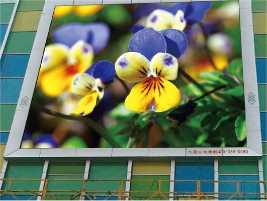 Shopping Mall P10 Outdoor Led Display , Full Color Outdoor Advertising Led Display