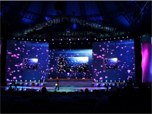 High Performance P3.91 Led Stage Display Screen Amazing Photographic Effects