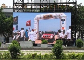 Large Sports Outdoor Rental Led Screen 3m Viewing Distance With 500*500mm Cabinet